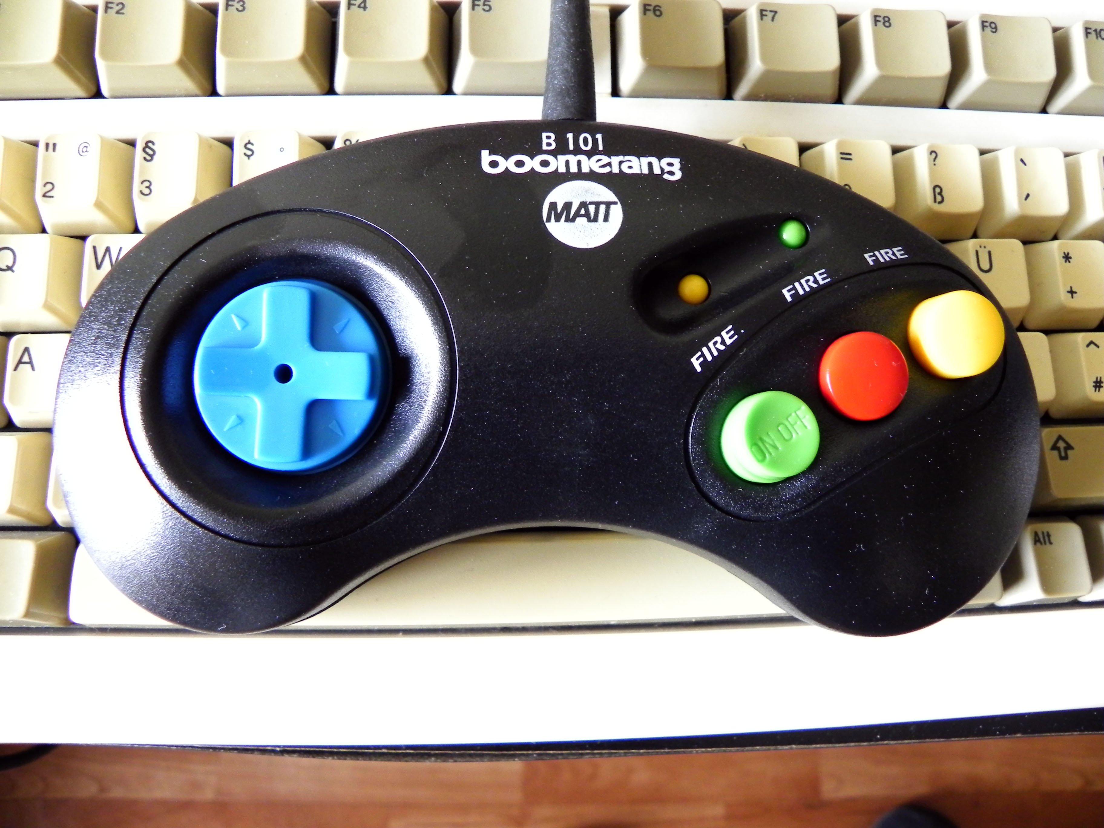 Joypad Boomerang
