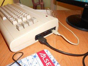 C64 podłączony do USB