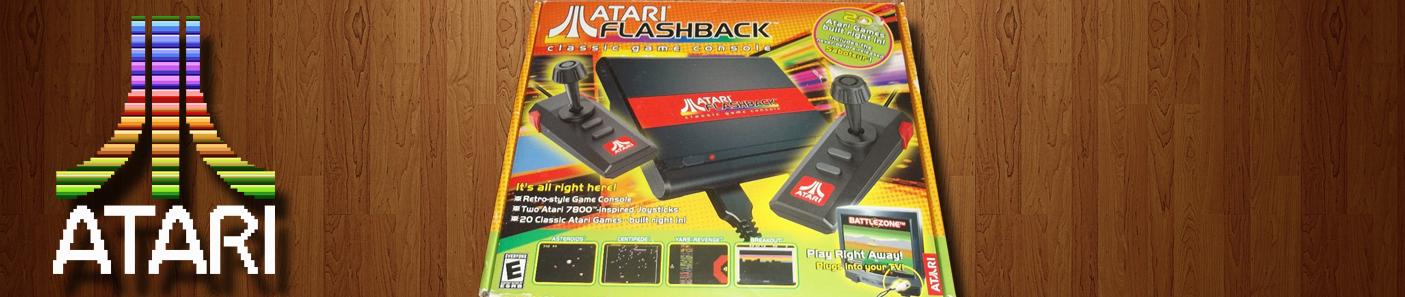 Atari Flashback – Opis, recenzja, gameplaye