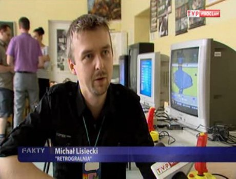 RetroGralnia w Telewizji