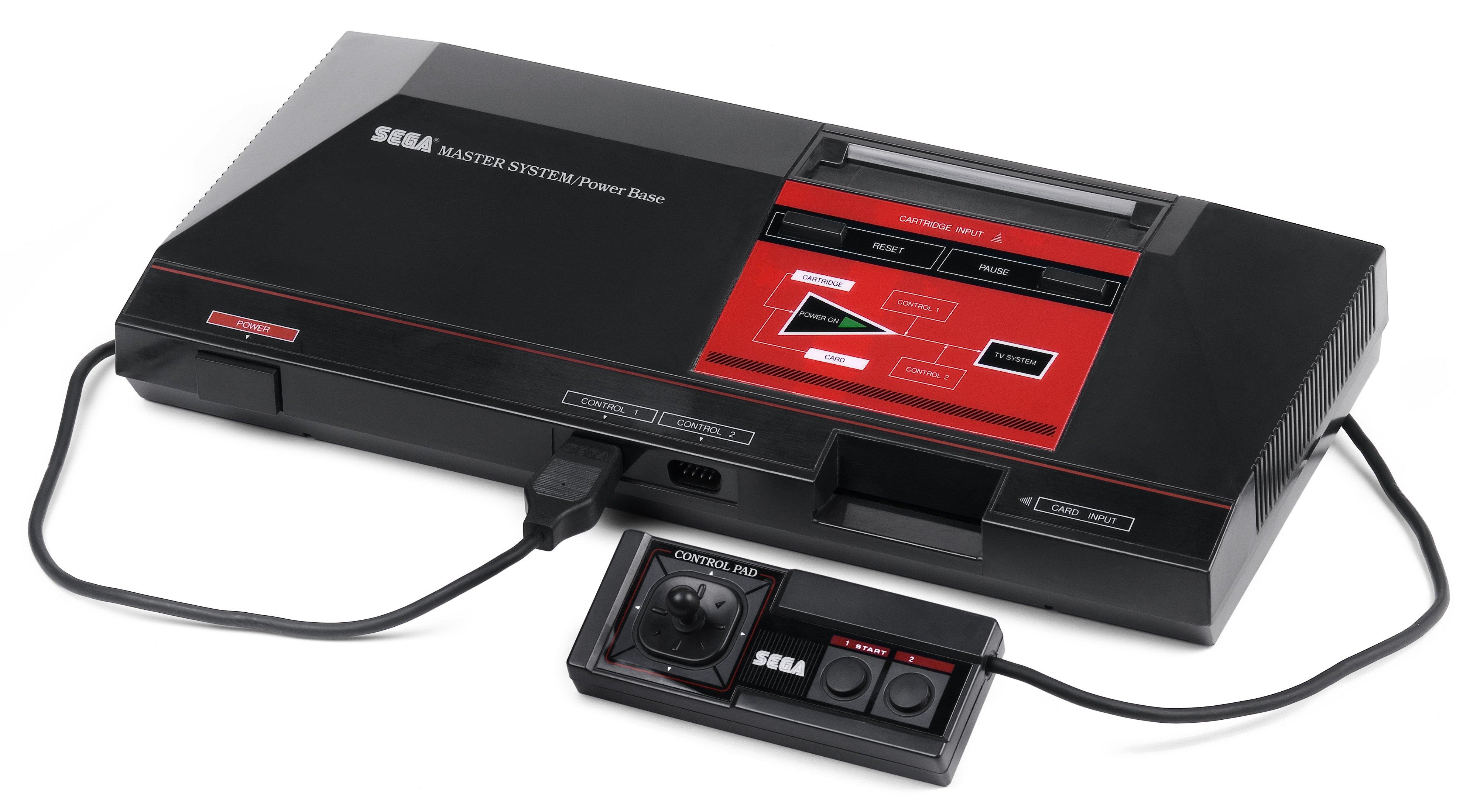 Sega Master System – konsola, gry
