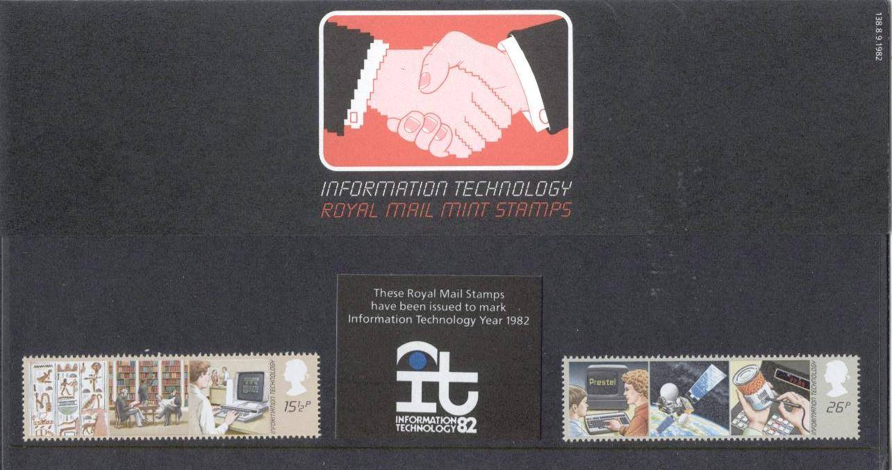 Royal Mail Mint Stamps 1982