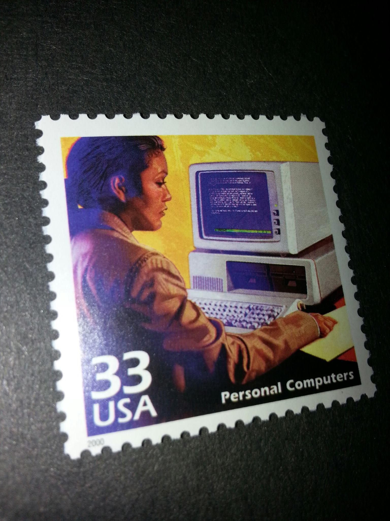 Pierwszy PC na znaczkach