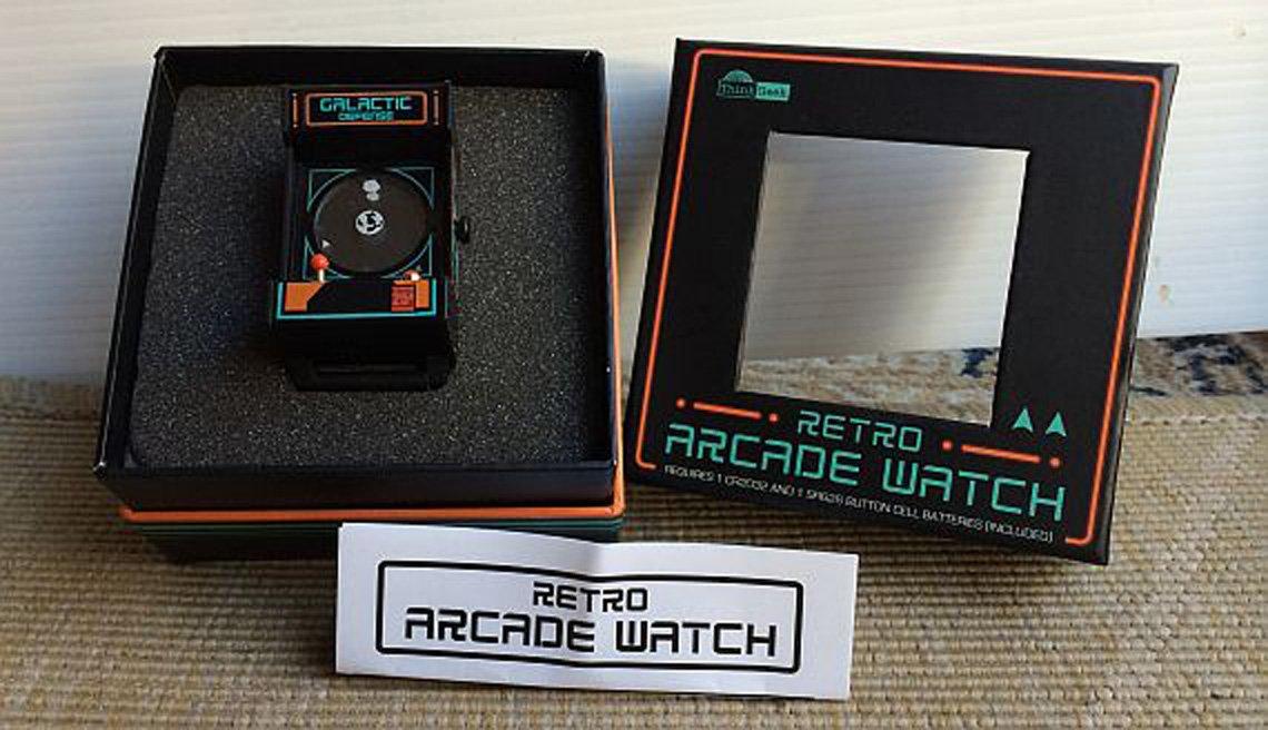 Retro Arcade Watch – zegarek dla geeka