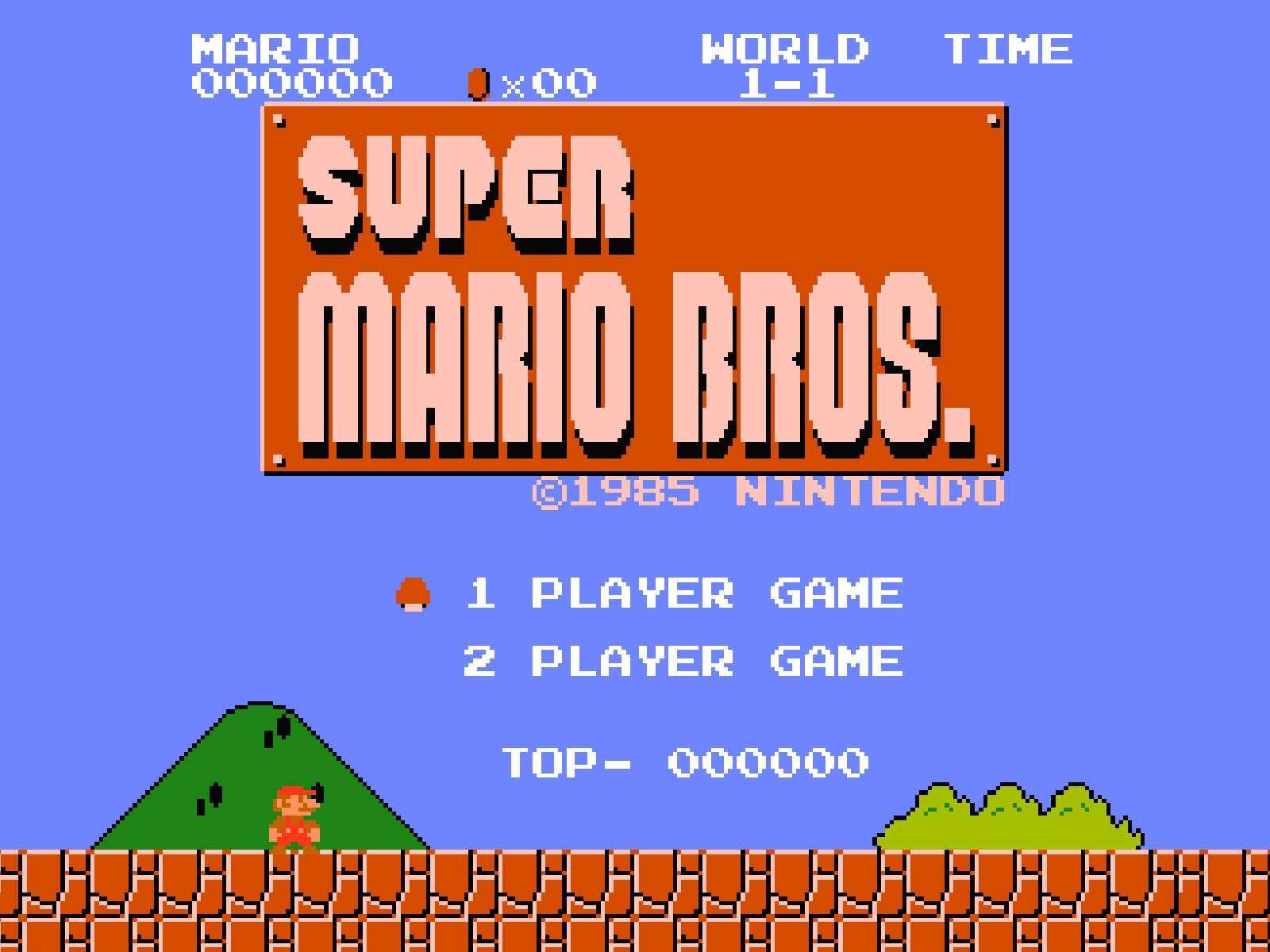 Super Mario Bros. – rocznica