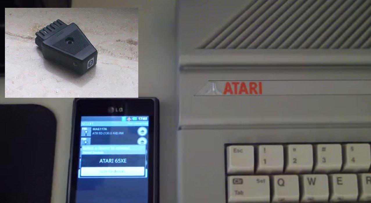 SIO2BT – Atari rozmawiające z komórką