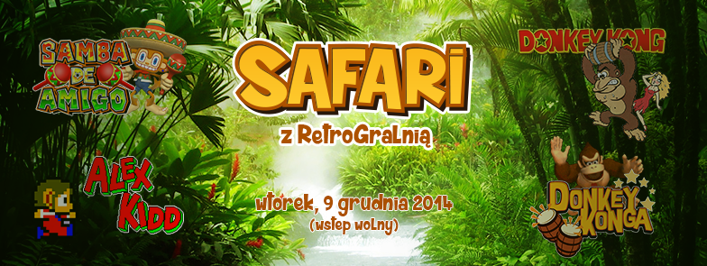 Safari z RetroGralnią