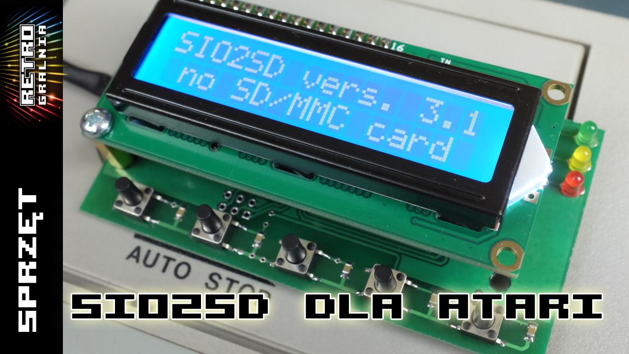 Sio2SD dla Atari – poradnik