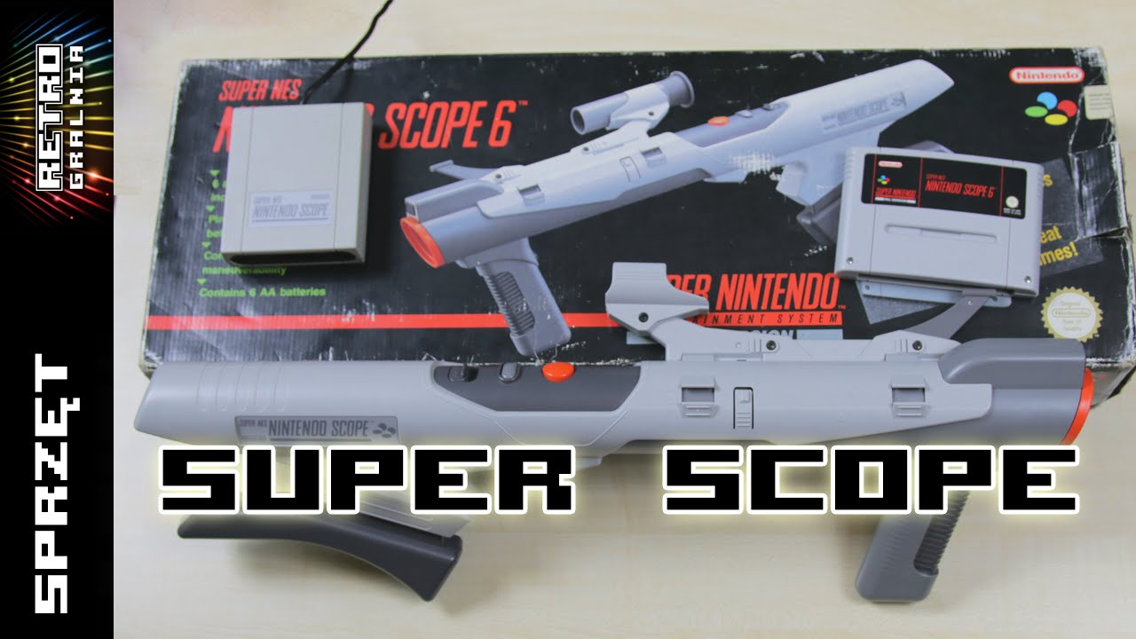 Nintendo Super Scope – Bazooka dla SNESa