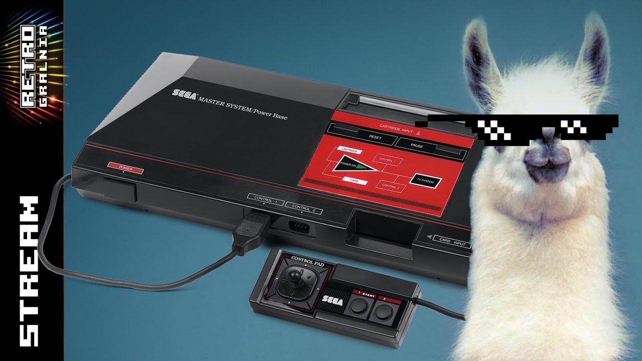 [Live] Sega Master System – Frabi i mfx nie lamią w gry