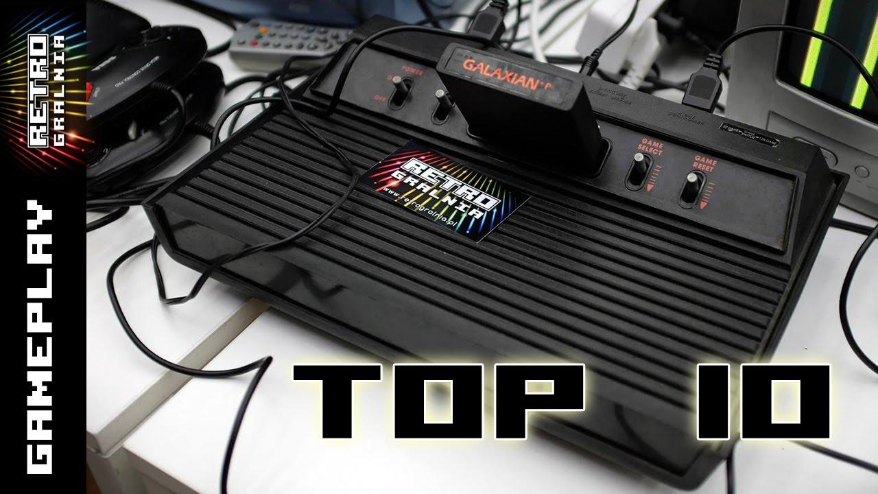 Atari 2600 – TOP 10 Gier według RetroGralni – GamePlay – VCS – Rambo