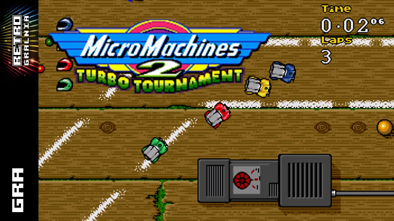 Micro Machines 2 Turbo Tournament – Recenzja i GamePlay – Multiplayer! Sega Mega Drive