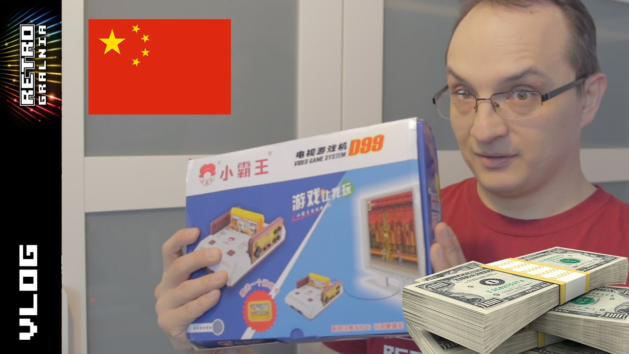 Tydzień z Retro #5 – Paczka z Chin – Patronite – Dolary, Dolary :P