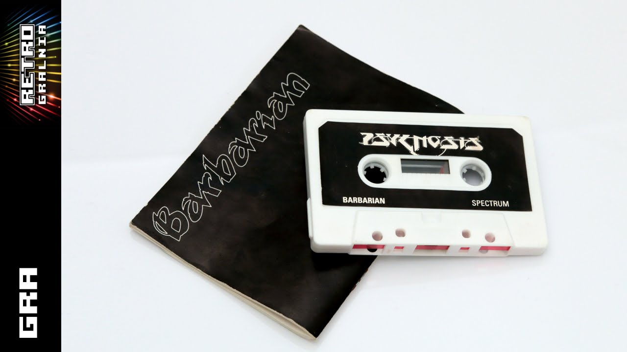 Barbarian – Gramy na Spectrumie  – ZX Spectrum 128K +2 – Gameplay