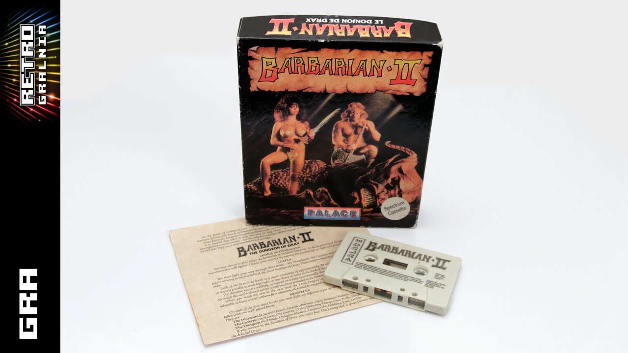Barbarian II – Gramy na Spectrumie  – ZX Spectrum 128K +2 – Gameplay