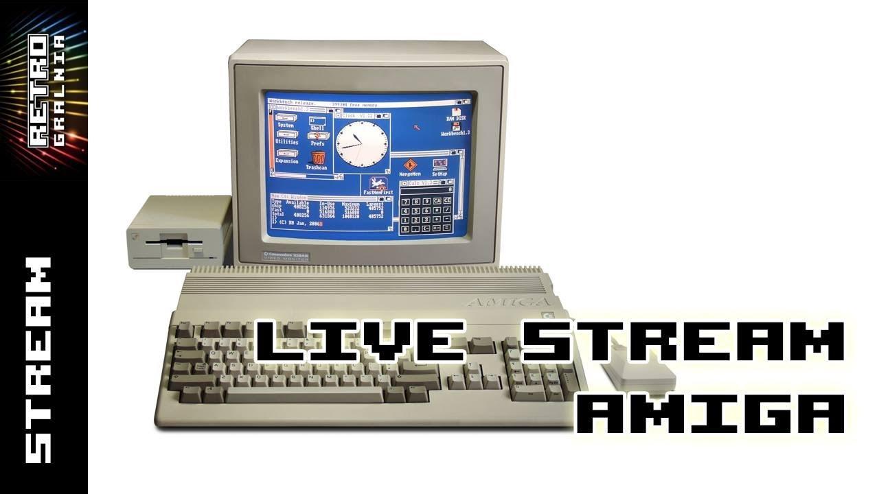 [Live] Amiga 500 z dyskietek – Gramy i Gadamy