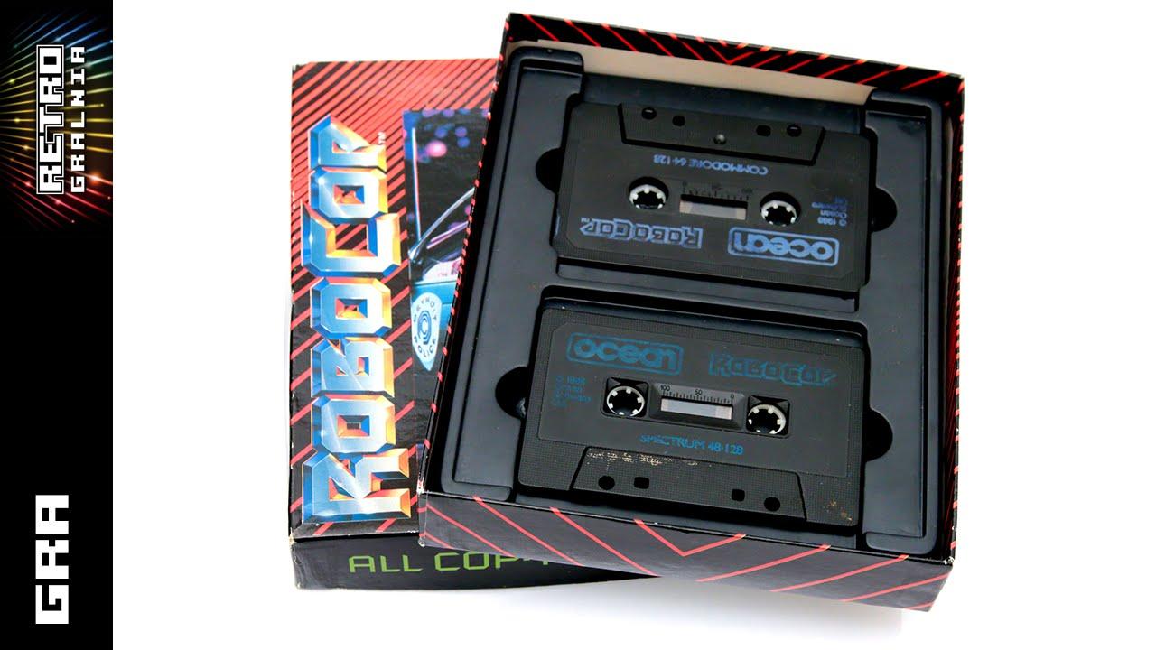 RoboCop – Gramy na Spectrumie  – ZX Spectrum 128K +2 – Gameplay
