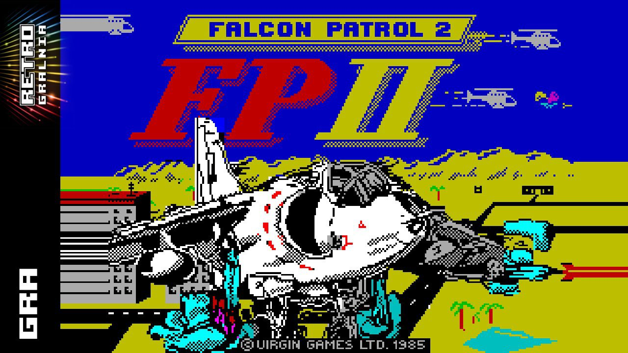 Falcon Patrol II – Gramy na Spectrumie  – ZX Spectrum 128K +2 – Gameplay