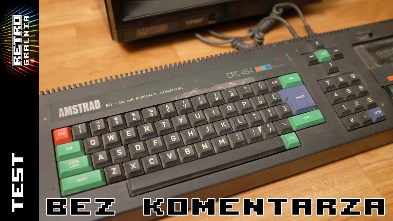 Amstrad CPC 464 – Ładowanie Goonies z Kasety/Adapteru – Bez Komentarza