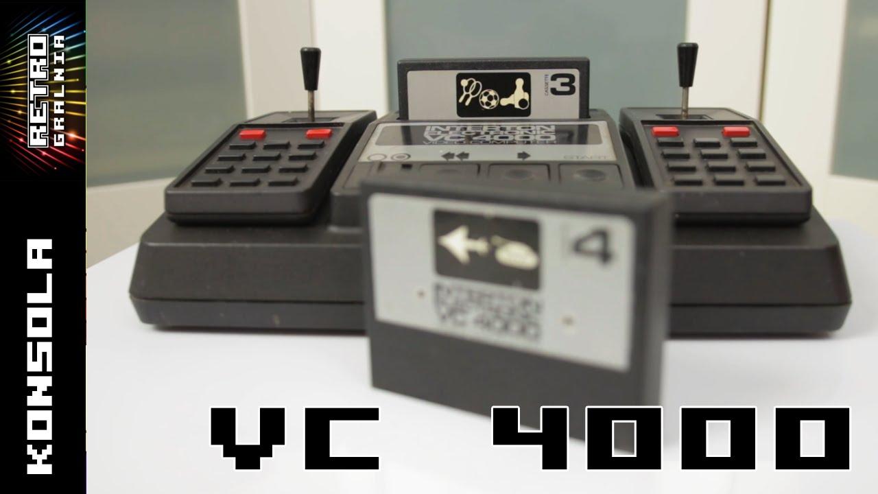 Interton VC 4000 – 8 bitowa konsola drugiej generacji – o sprzęcie