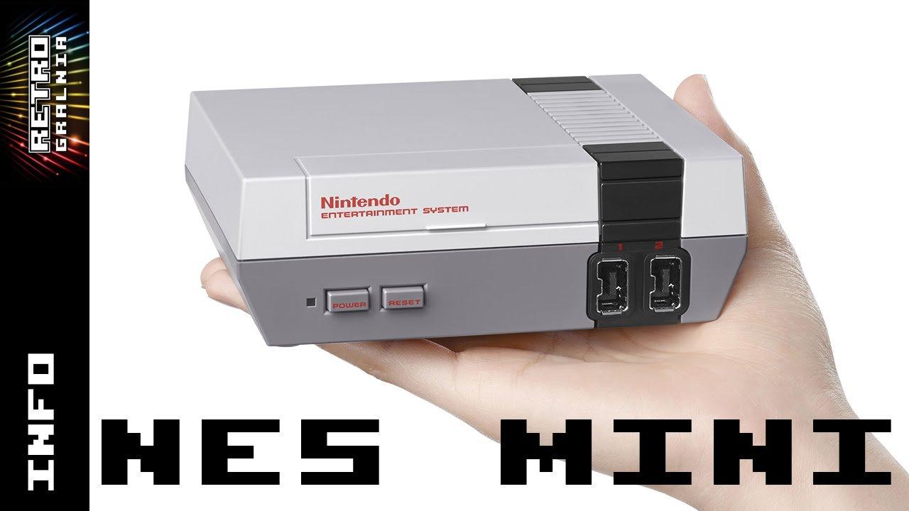 NES Classic Edition – NES Mini – zapowiedź nowej retro konsoli  – 30 gier