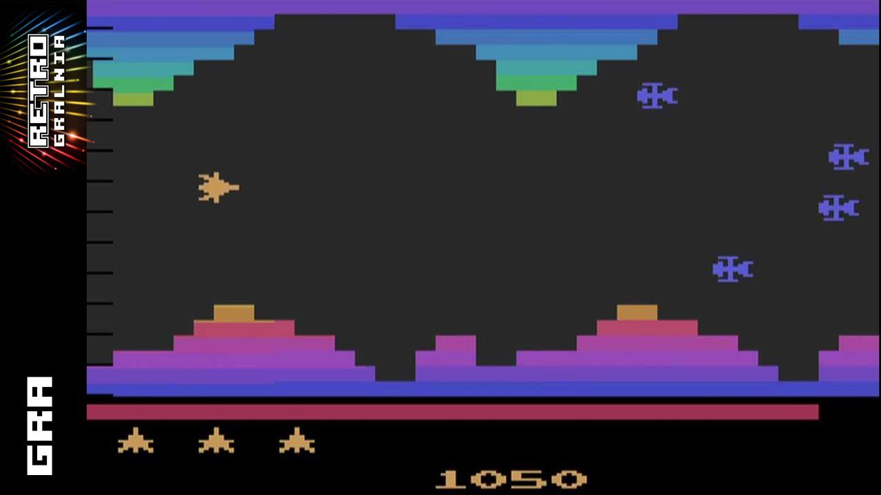 Vanguard – Atari 2600 / VCS – GamePlay