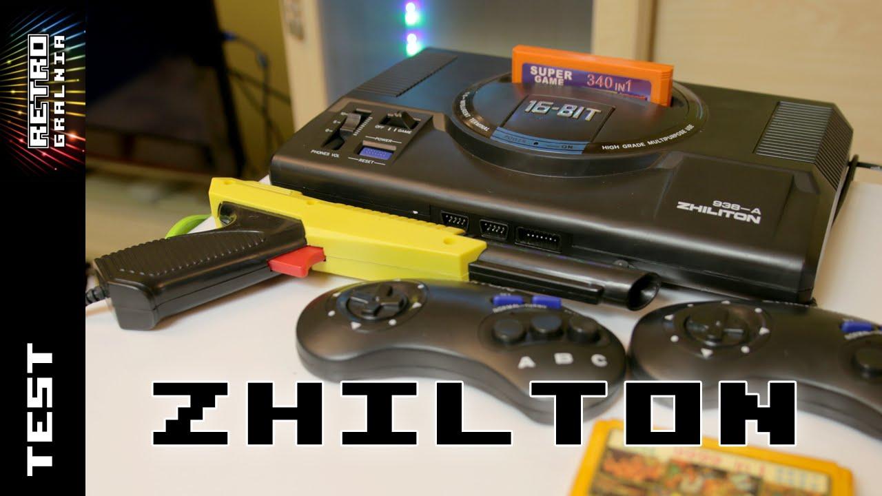 Zhiliton 938-A – Klon konsoli Famicom/Pegasus – Unboxing i Test Sprzętu