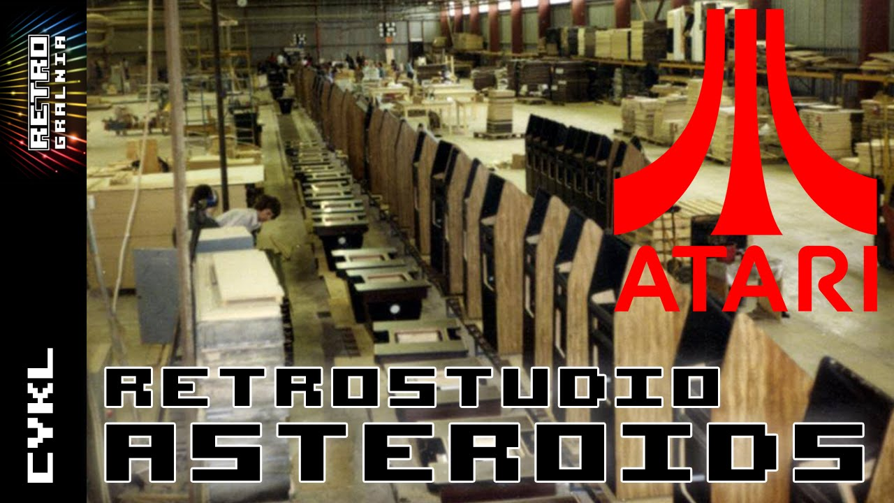 Asteroids – The Gamie is Not Over – RetroStudio – Stary Automat Arcade Atari