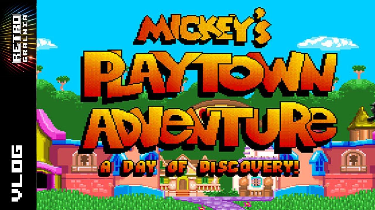 RetroGadka #2 – Mickey's Playtown Adventure / Dni Fantastyki Militarnej – RetroGralnia