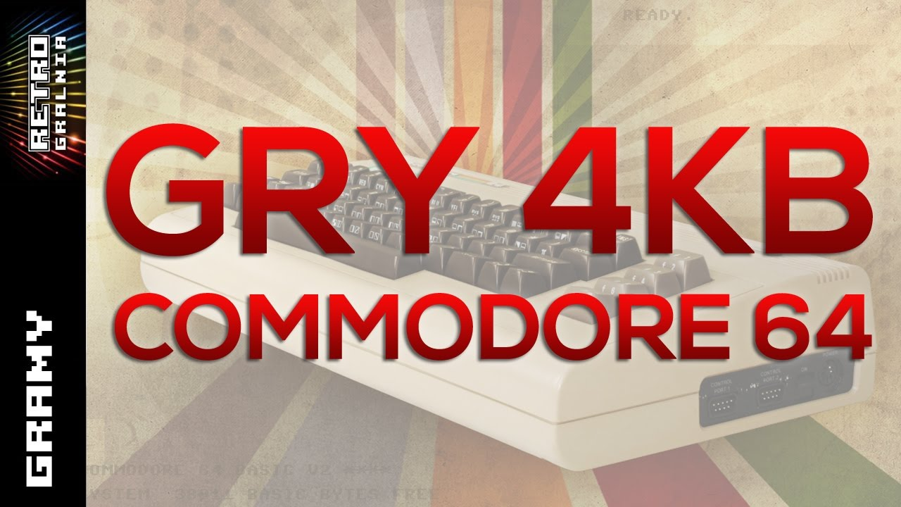 4KB Games – Commodore 64 – Przegląd – Gameplay – Let's Play