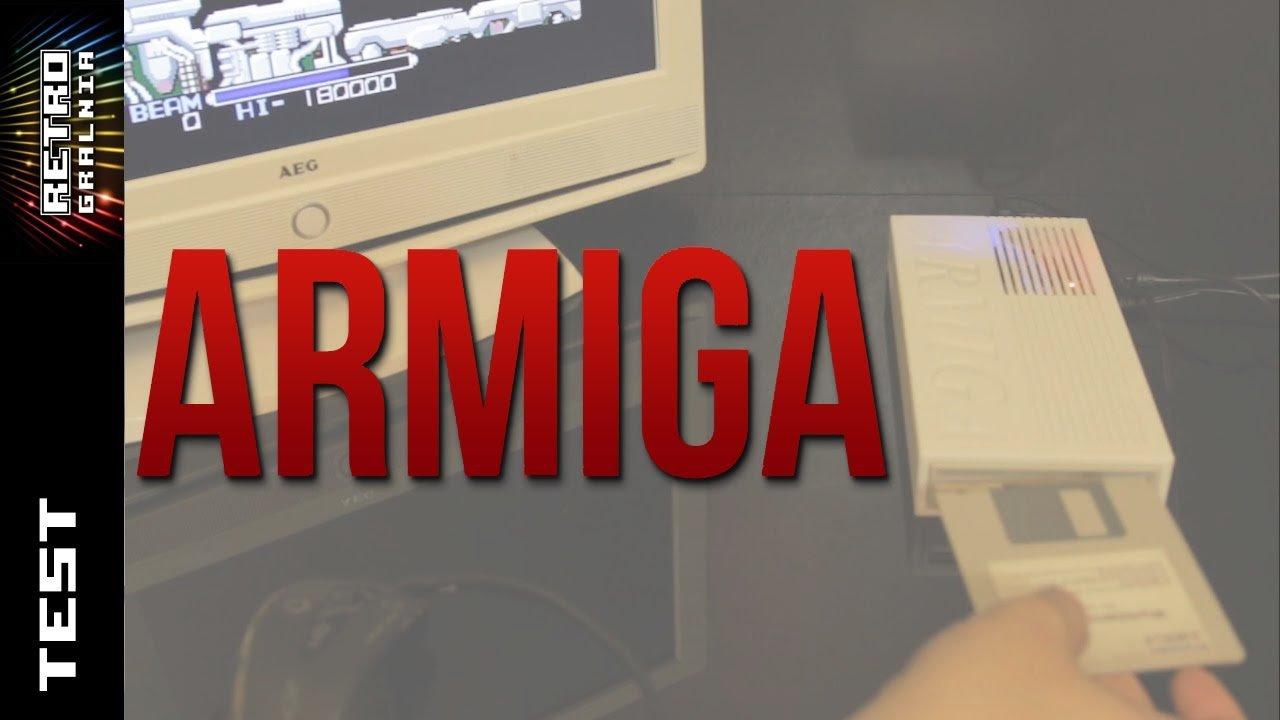ARMIGA – Emulator Amigi ze Stacją 3.5″ – Test – Recenzja – Emulator w Akcji