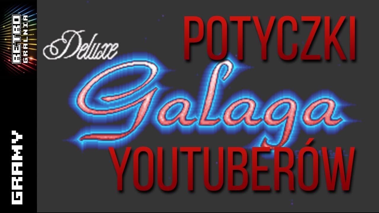 Deluxe Galaga – Potyczki Youtuberów – Frabi Gra! – Techniczny Fali
