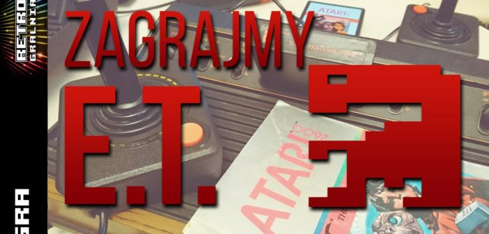 Zagrajmy w E.T. the Extraterrestrial  – Gameplay – Atari 2600 VCS