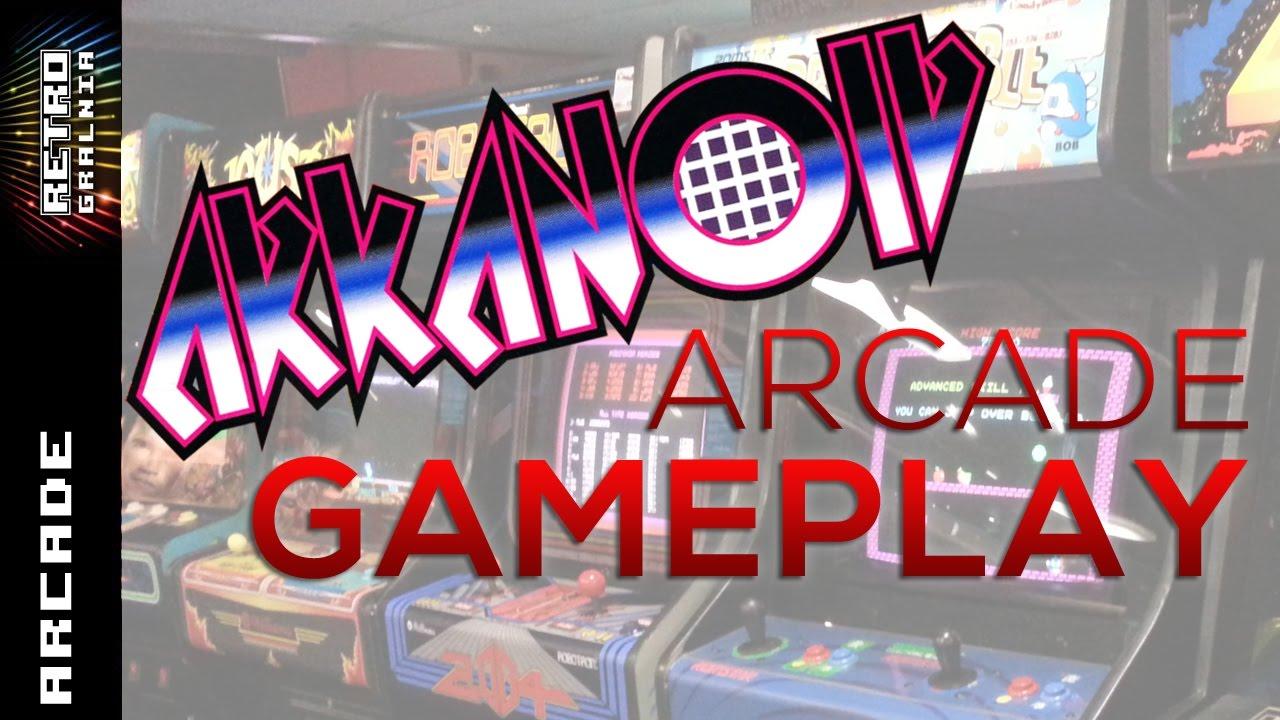 Arkanoid – Arcade Gameplay – Multi Platform Games –  Hellomat Automaten – Część 3