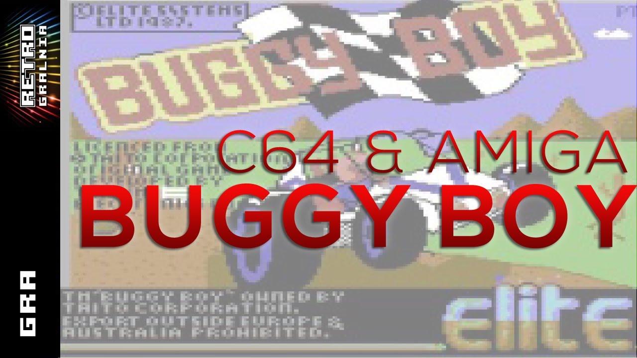 Buggy Boy – Prezentacja – Commodore & Amiga – Gameplay i Recenzja