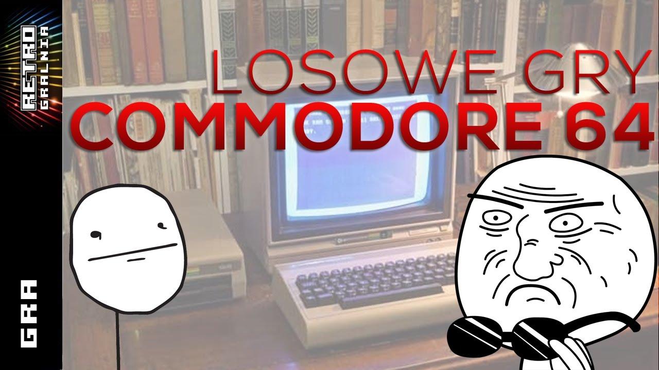 Commodore 64 – Gramy w Losowe Gry