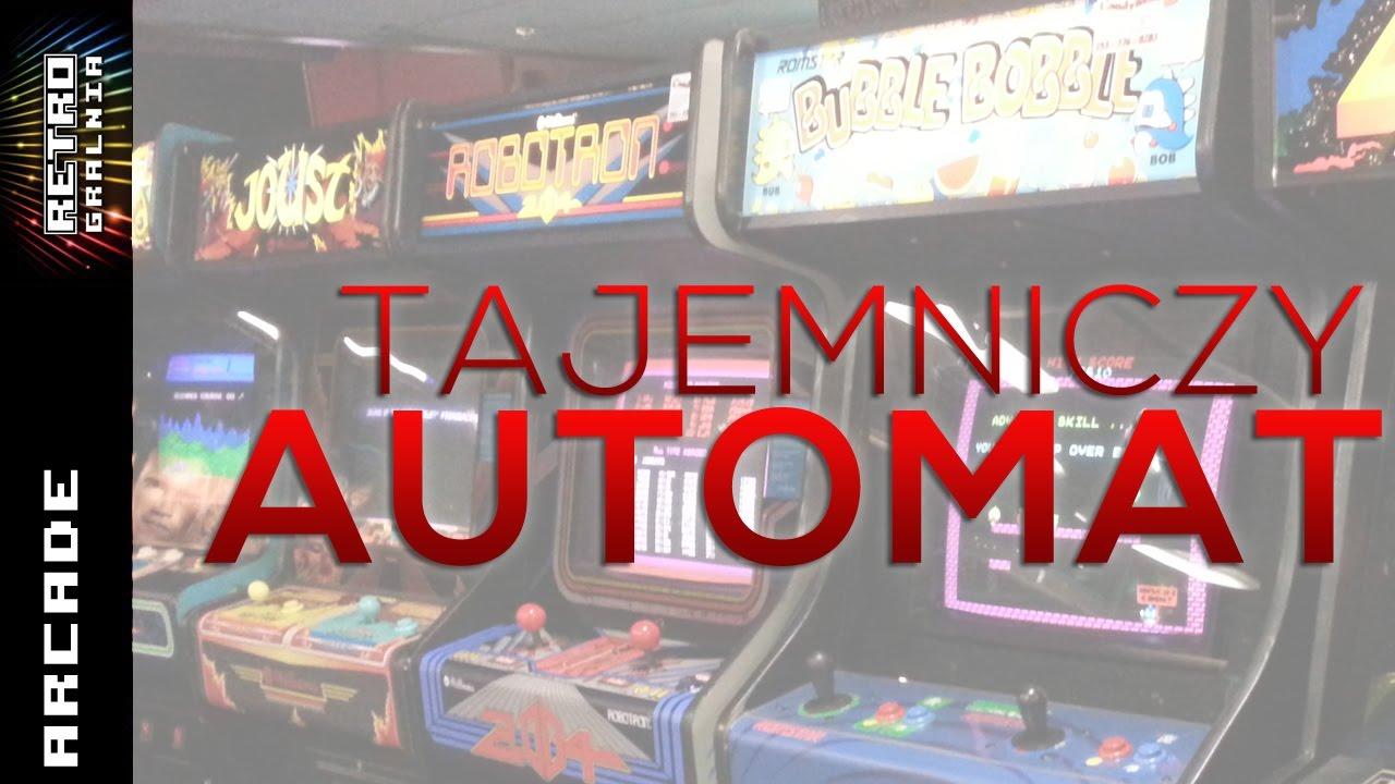 Retro Studio – Tajemniczy Automat Arcade – Hellomat Automaten – Zdobycz Artura – Cześć 1