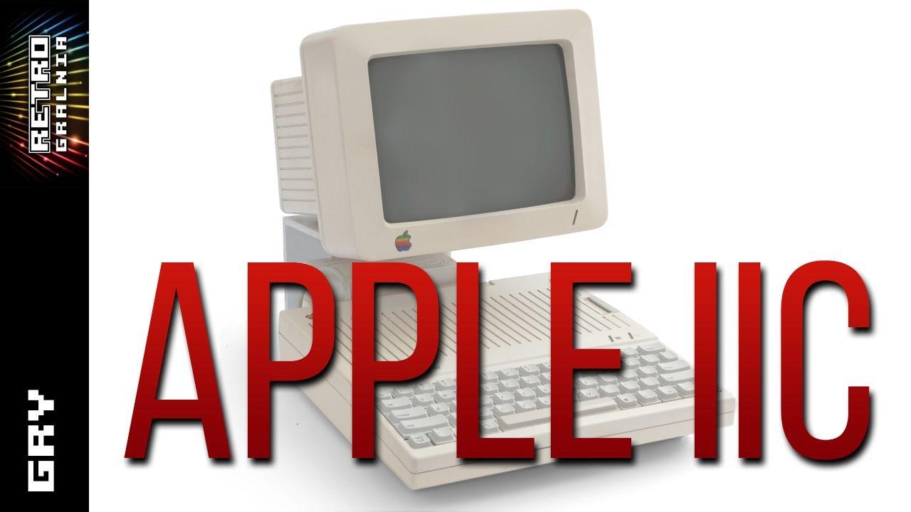 Komputer Apple IIc – Gościnnie SSG – Pierwsze Spojrzenie  – Gramy w Gry!  #Apple #Gameplay