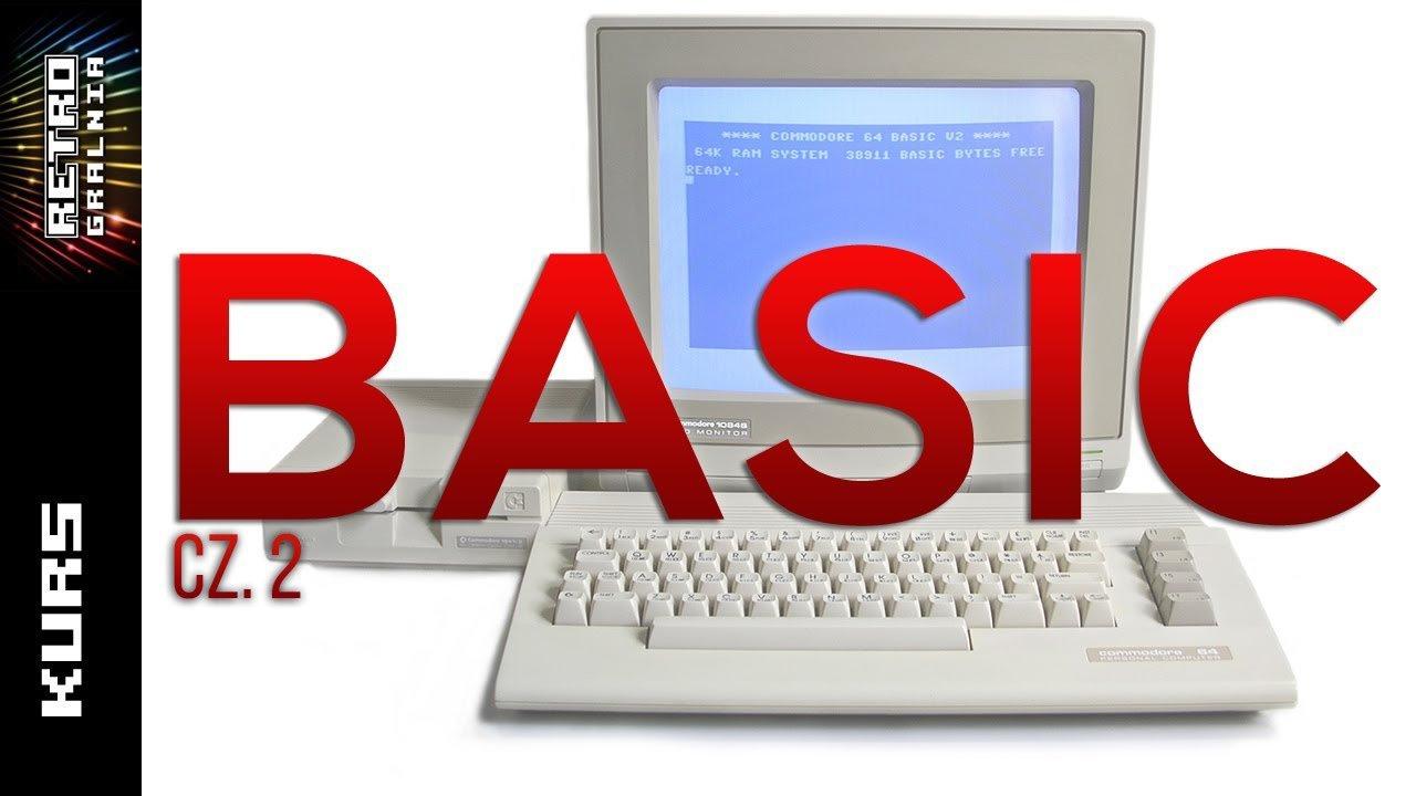 💾 Programowanie BASIC dla Początkujących – Kurs – Część 2 – Commodore 64