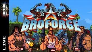 🔴 Broforce Live – Część 2 – Flowersik lami?