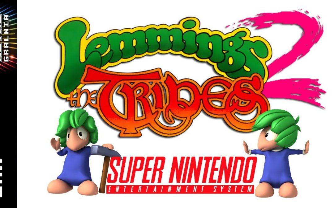 🎮 Lemmings 2: The Tribes – SNES Mouse – Gramy i Testujemy Myszkę
