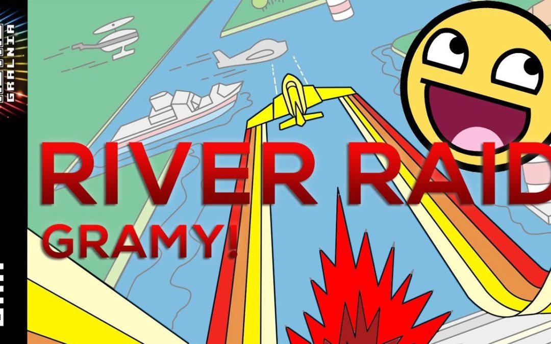 🎮 River Raid Gameplay – Borg prawie nie lami w grę – Commodore 64