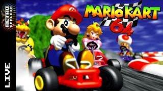 🔴 Mario Kart 64 – Live!