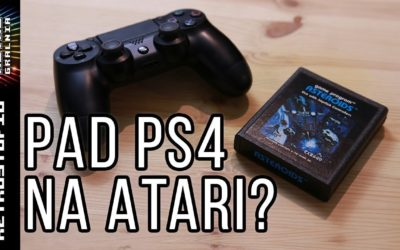🎮 Bezprzewodowy pad PS4 na Atari 2600? Bluetooth na Commodore? [RetroStudio]