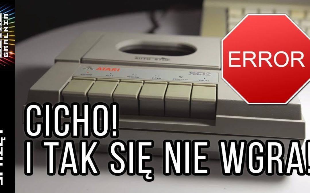 😱 Cicho, bo się nie wgra! –  Poznaj prawdę o magnetofonie Atari
