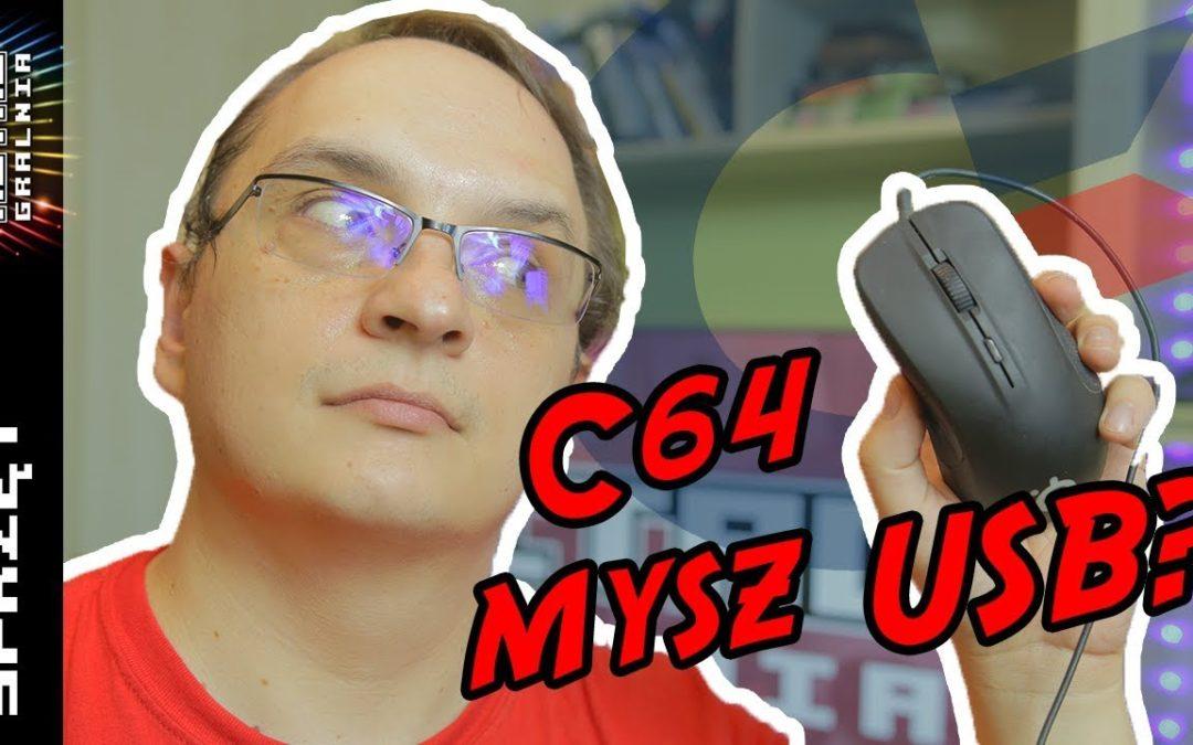 🖱️ Jak podłączyć mysz USB do Commodore 64? Tom Rev2