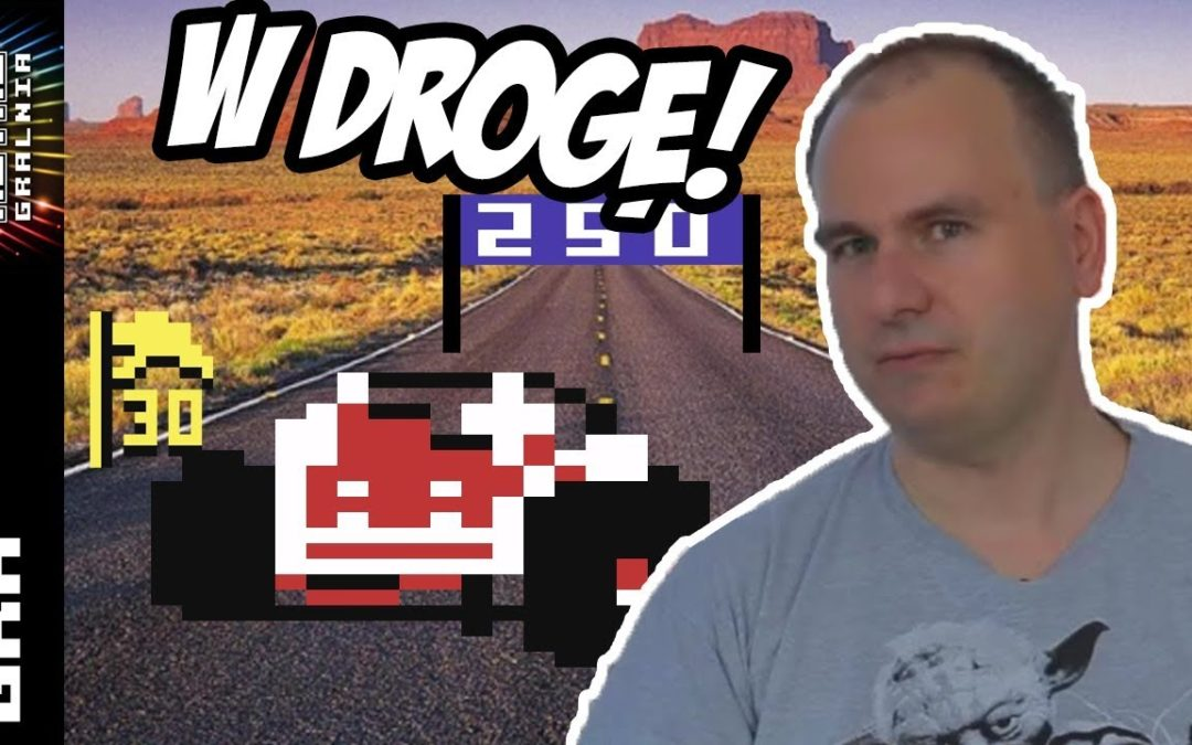 🚗 Buggy Boy na C64 – Skąd te piłki na torze?