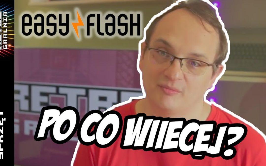 💾 Easy Flash 3 – Czy potrzebujemy coś więcej do Commodore 64? [Reupload]