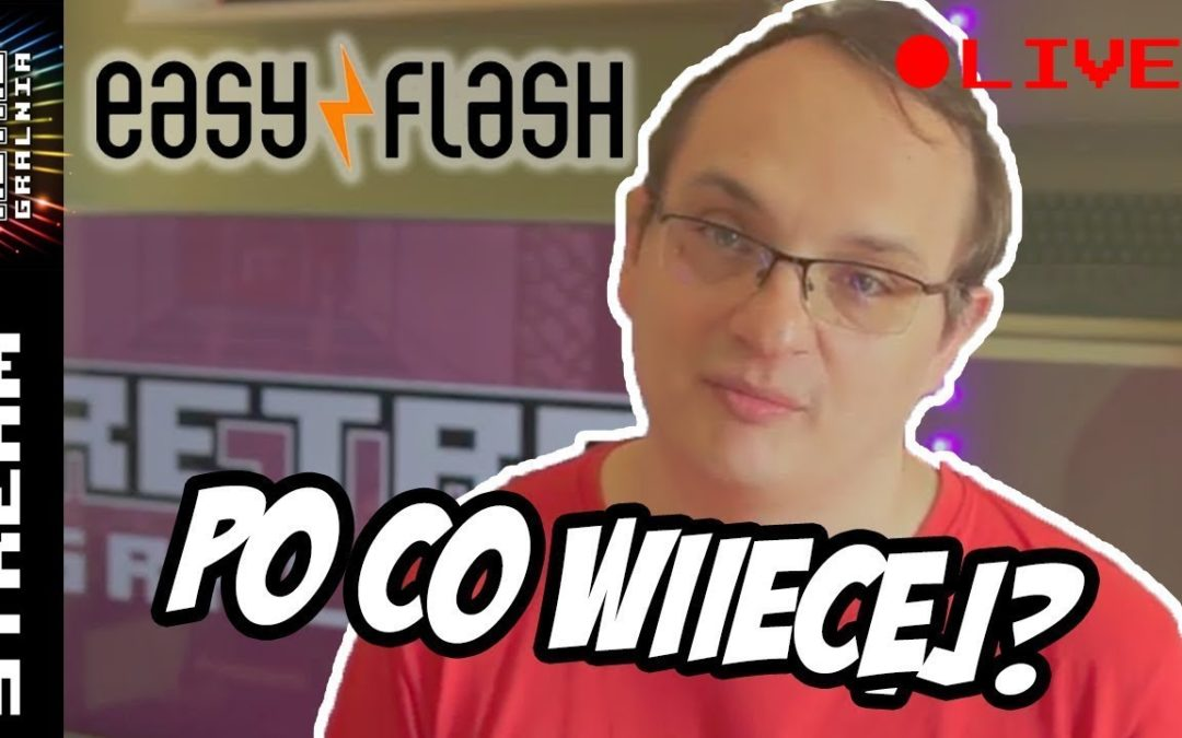💾 Commodore 64 – EasyFlash Tutorial i Supercart 60-in-1