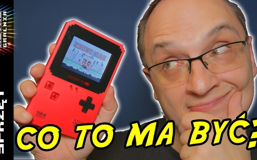 🕹️ My Arcade – Data East – Co te ludzie wymyślą? Game Boy Mini?